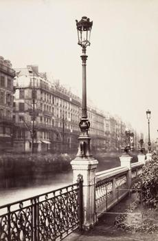 """Passage Saint-Benoît (sixth arron-dissement)"" is one of 93 images on view in ""Charles Marville: Photographer of Paris."""